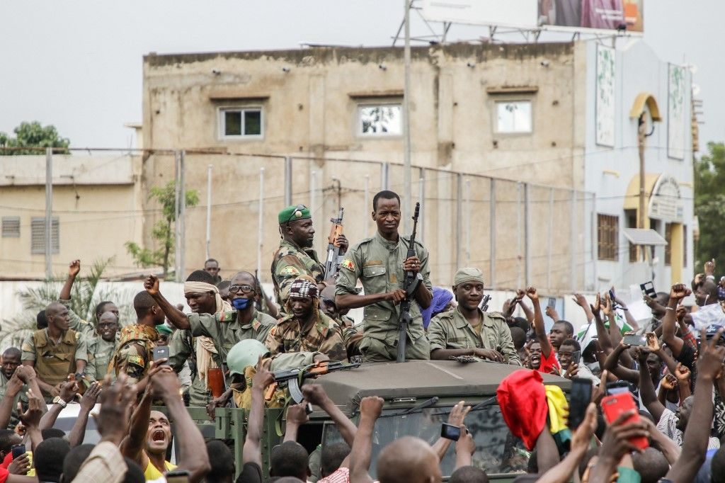 soldats Mali coup d'Etat Ibrahim Boubacar Keïta