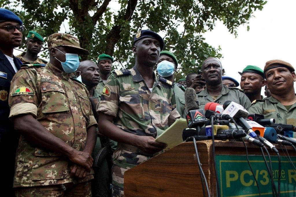 Mali coup d'état militaires soldats Ismael Wague