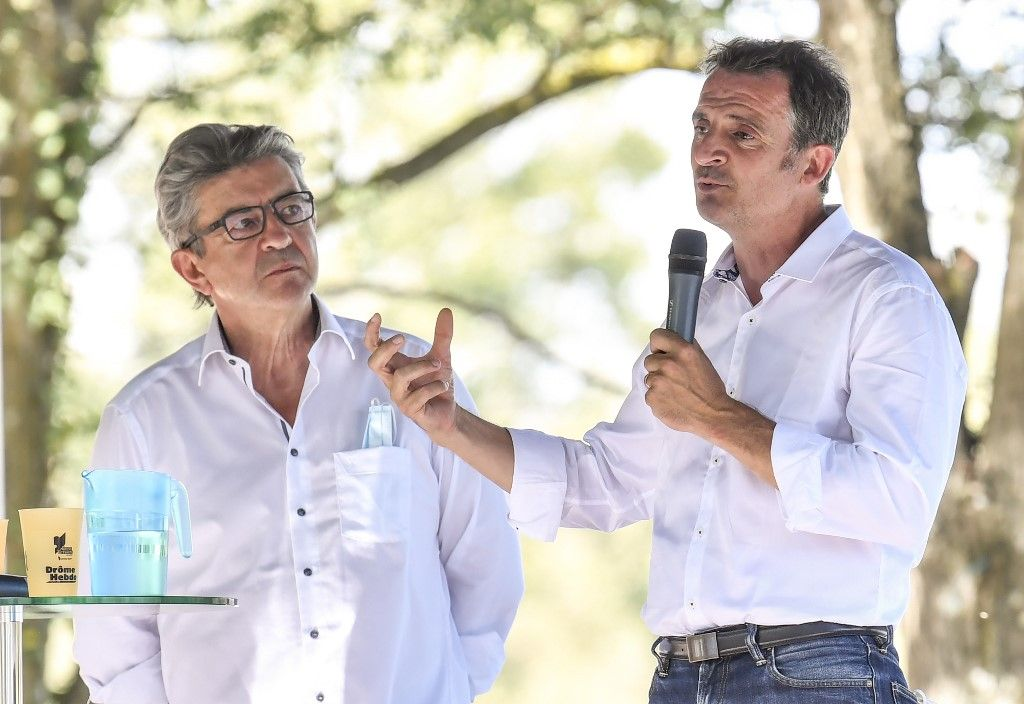 Eric Piolle Jean-Luc Mélenchon EELV LFI europe écologie les verts la france insoumise