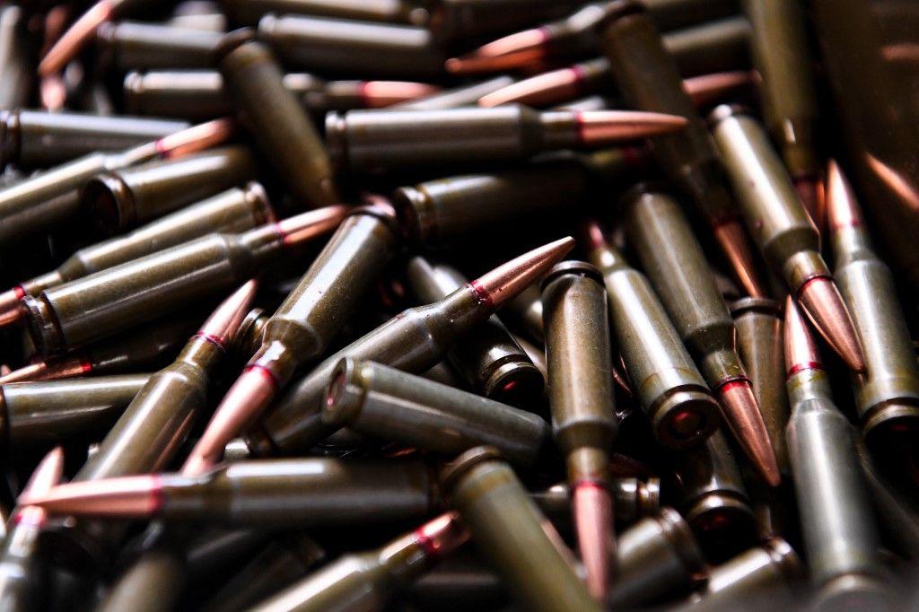 Des munitions de kalashnikov.