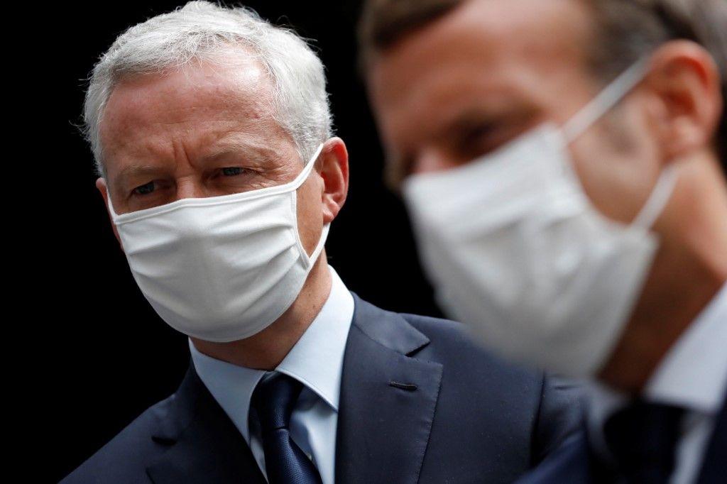 Bruno Le Maire Emmanuel Macron quoi qu'il en coûte