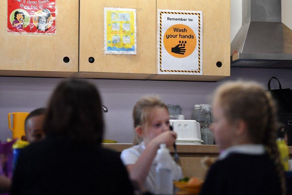 Une école au Royaume-Uni.
