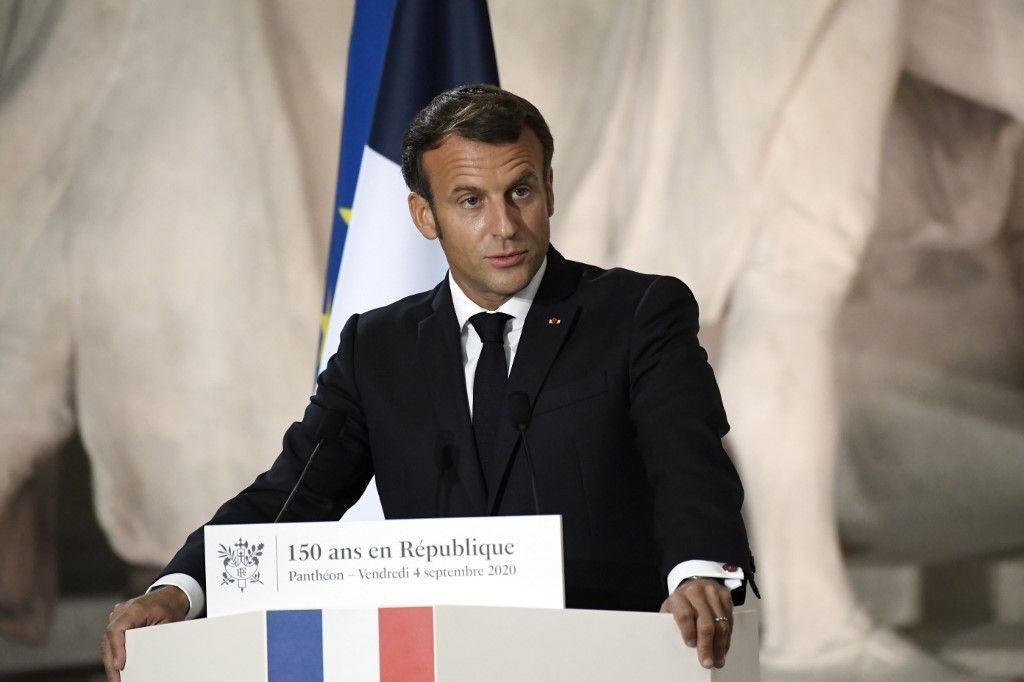 Emmanuel Macron unité nationale