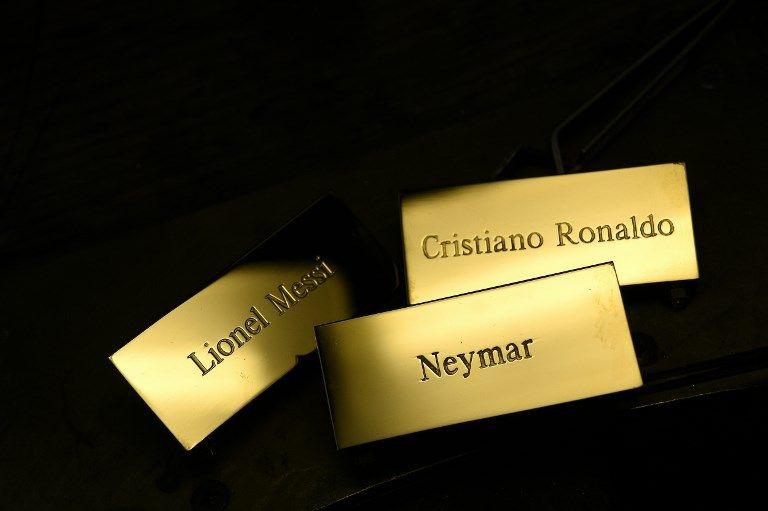 """Le style : le seul terrain sur lequel le beau gosse (botoxé ?) Ronaldo peut vraiment rivaliser avec le """"terne"""" Messi ?"""
