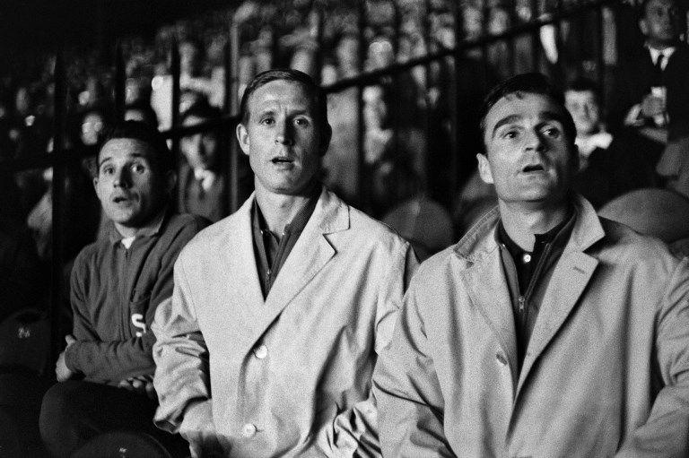 Roger Piantoni (à droite) en 1961.