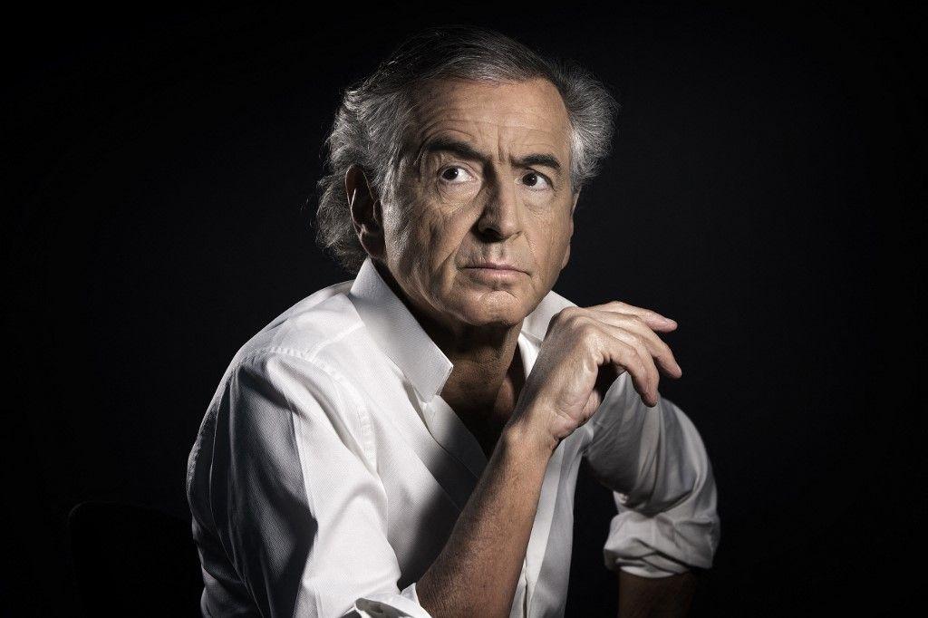 Le philosophe et écrivain Bernard-Henri Levy à Paris le 14 janvier 2016.