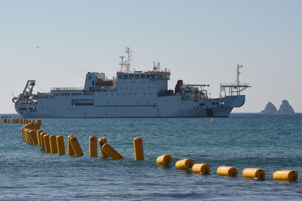 Les câbles sous-marins, talon d'Achille de l'internet mondial