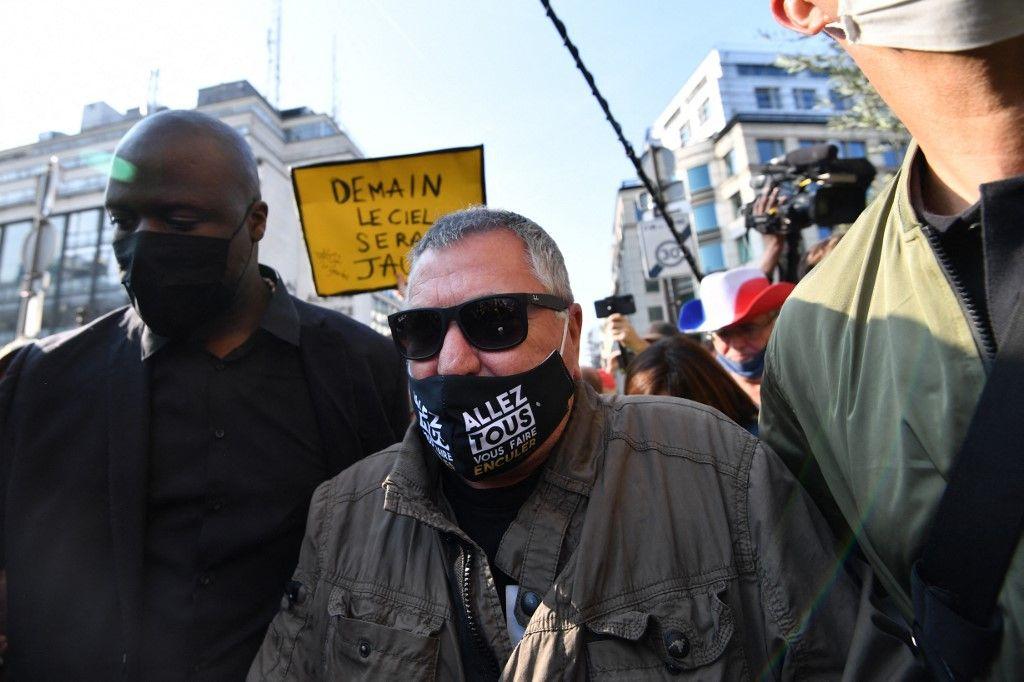 L'humoriste Jean-Marie Bigard vient de commercialiser une gamme de masques de protection contre la Covid-19.