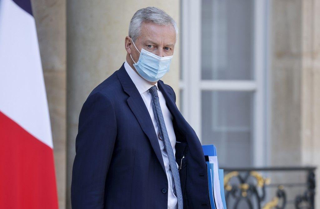 Bruno Le Maire ministre de l'économie