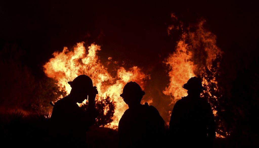 feux incendies flammes Californie Etats-Unis