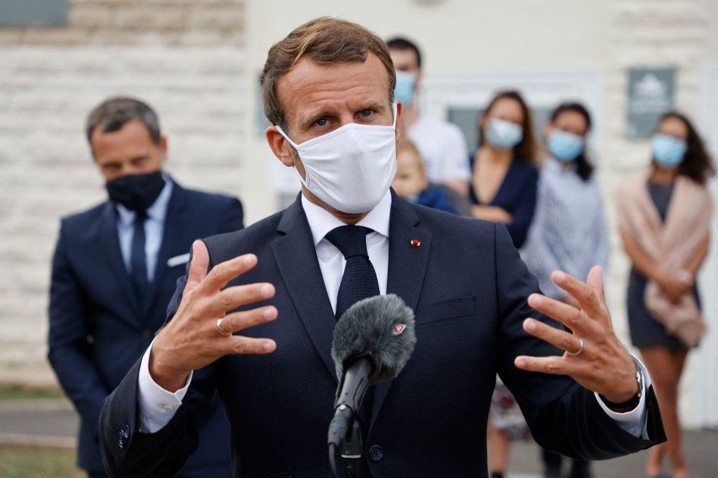 Emmanuel Macron égalité des chances grandes écoles éducation jeunesse avenir formation ENA Sciences Po