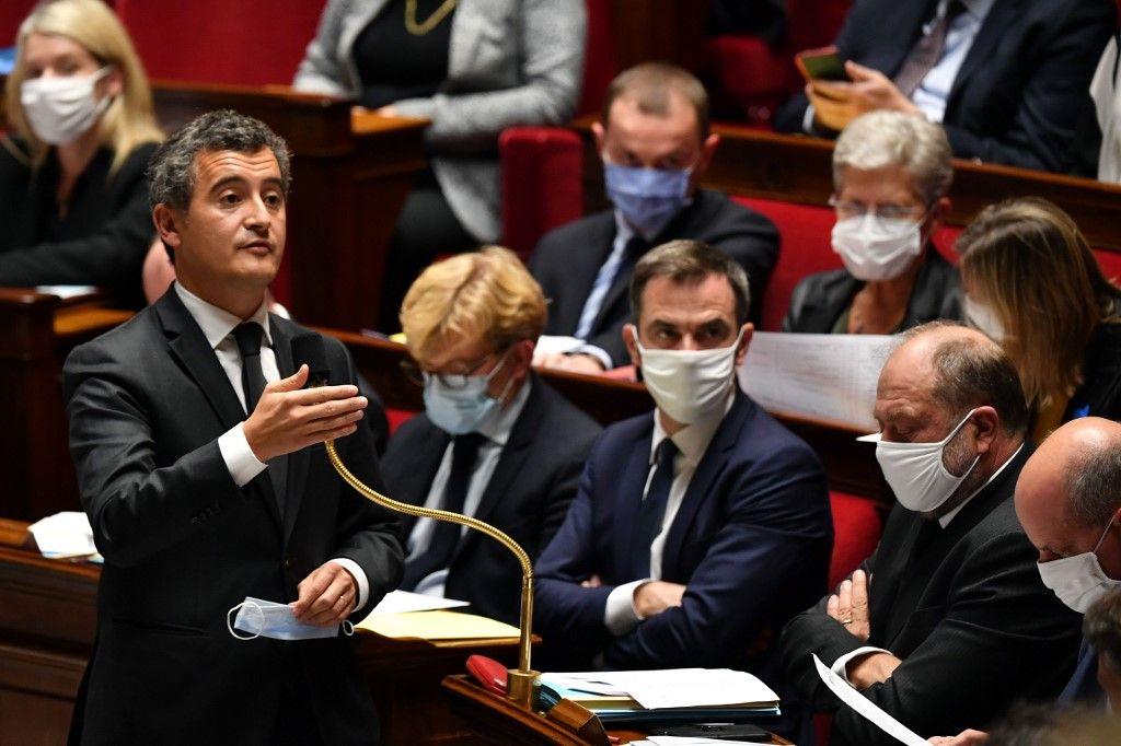 Gérald Darmanin ministre de l'intérieur projet de loi contre le séparatisme laïcité