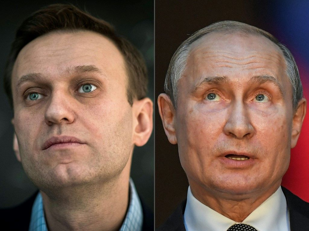 Vladimir Poutine Alexeï Navalny