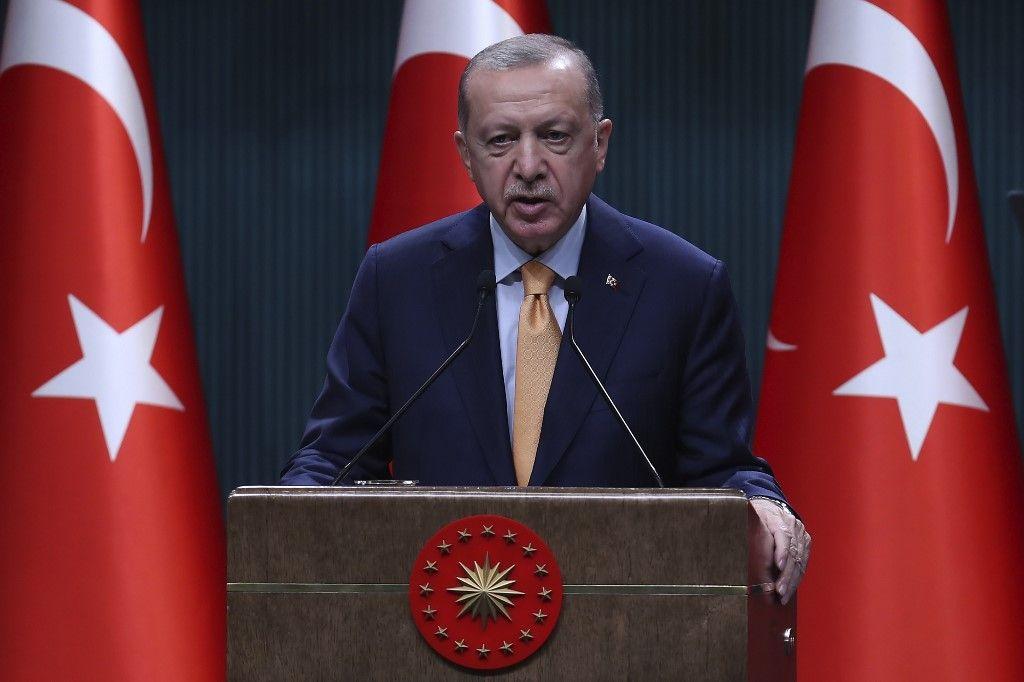 Recep Tayyip Erdogan Turquie Arménie Azerbaïdjan