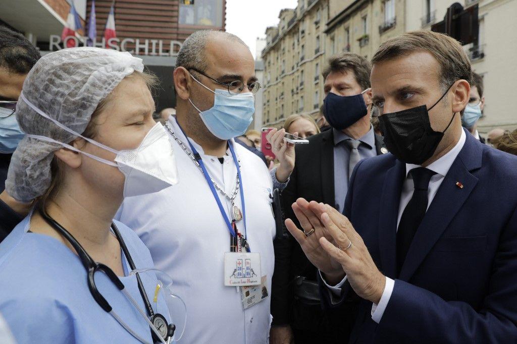 Emmanuel Macron personnel soignant aidants Ségur de la santé
