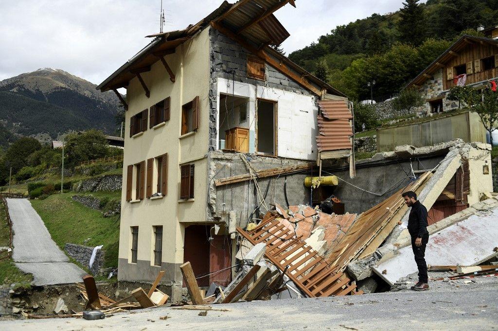 Saint-Martin-Vésubie inondations coût impact bilan tempête Alex