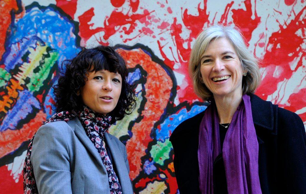 Prix Nobel de chimie Emmanuelle Charpentier Jennifer Doudna ciseaux moléculaires
