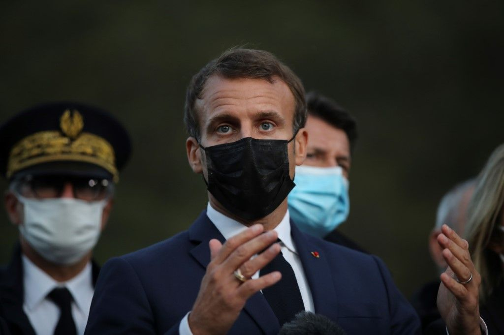 Emmanuel Macron Alpes-Maritimes