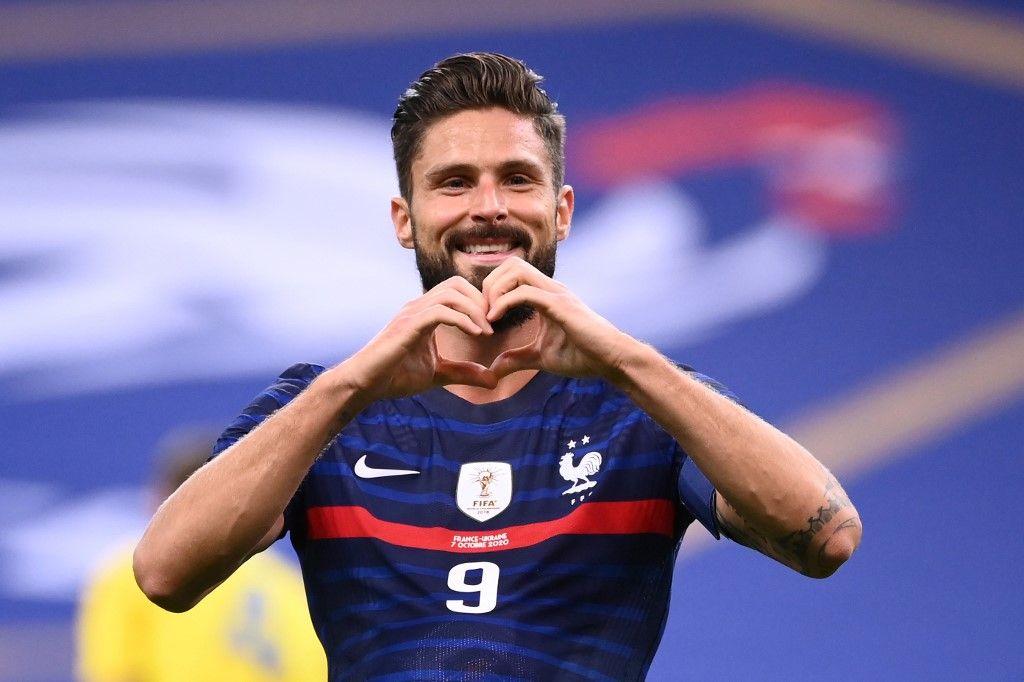 Olivier Giroud équipe de France