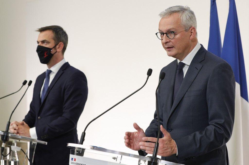 Bruno Le Maire Olivier Véran crise économique