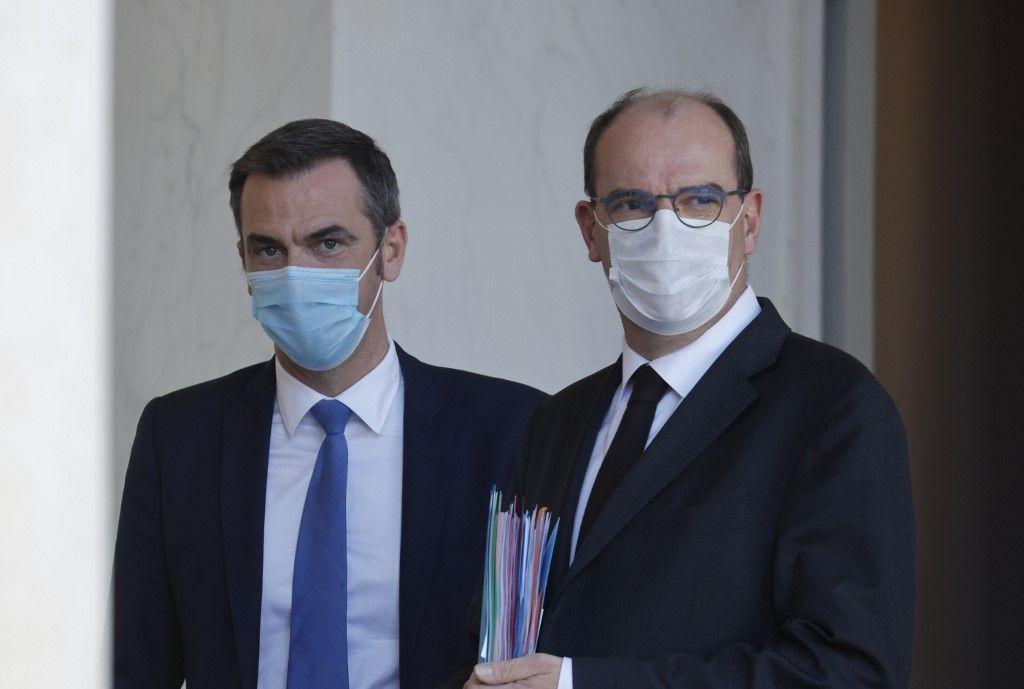 Jean Castex Olivier Véran libertés indiviuelles protection vaccin coronavirus covid-19