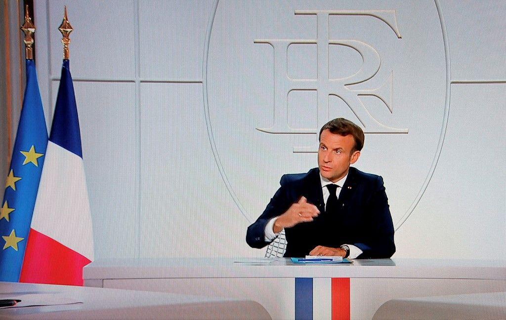 Emmanuel Macron annonces libertés individuelles Assemblée nationale couvre-feu