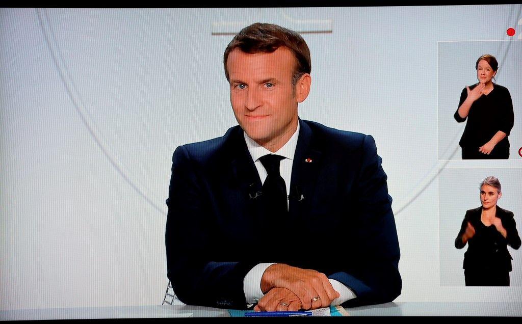 Emmanuel Macron annonces couvre-feu couples natalité