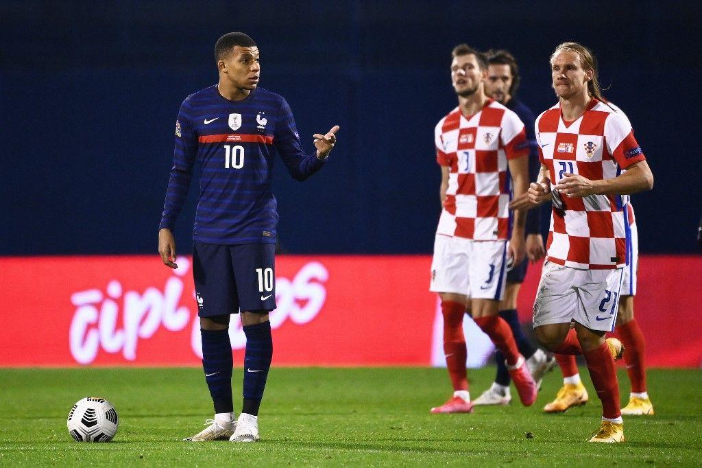 France - Croatie football ligue des nations Kylian Mbappé