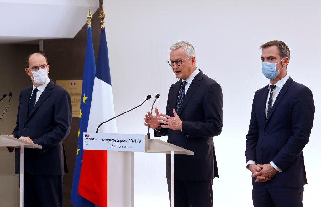 Bruno Le Maire Olivier Véran Jean Castex économie perspectives