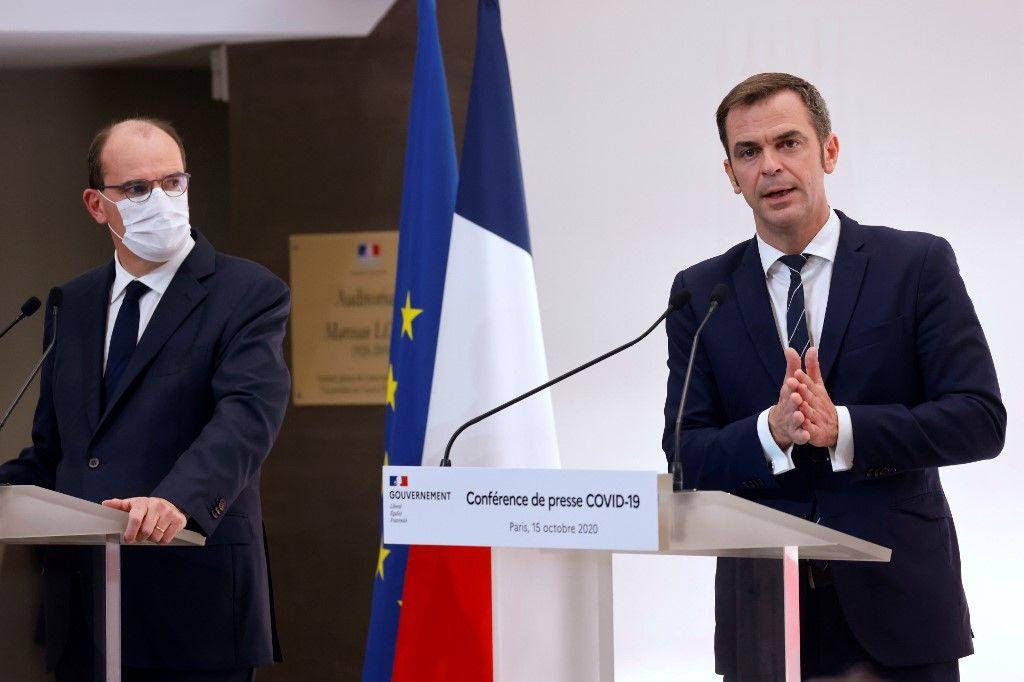 Jean Castex Olivier Véran