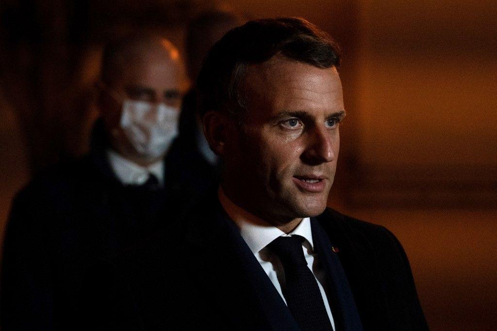 Emmanuel Macron lutte contre l'islamisme