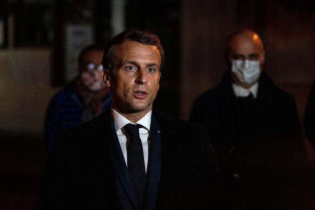 Conflans-Sainte-Honorine Emmanuel Macron majorité LREM