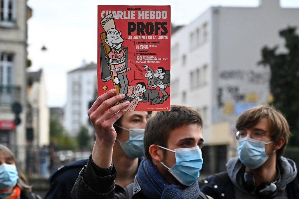 caricatures Charlie Hebdo