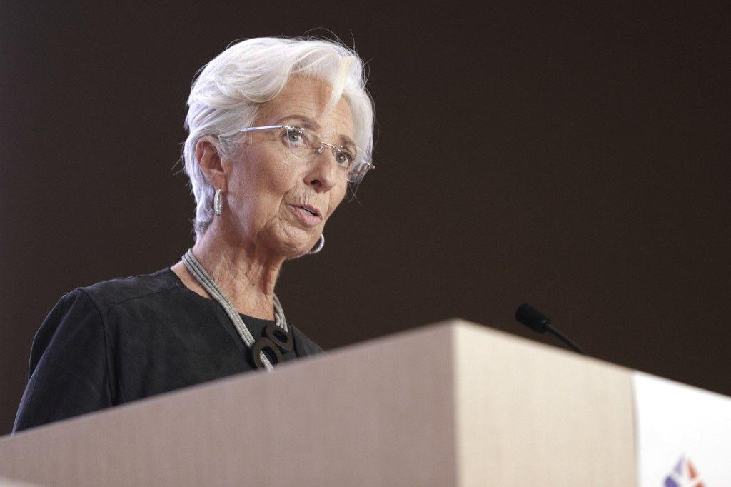Christine Lagarde BCE Banque Centrale Européenne plan de relance dépenses