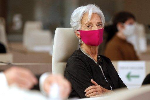 Christine Lagarde, présidente de la BCE.