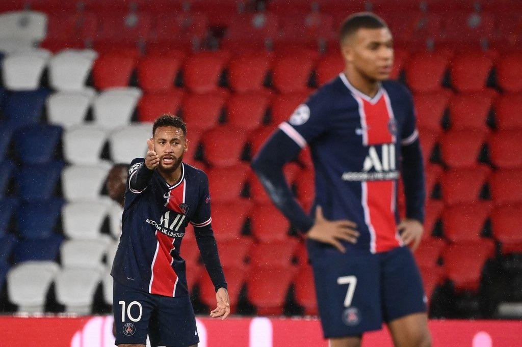 PSG Manchester United Neymar Mbappé ligue des champions football Paris Rashford