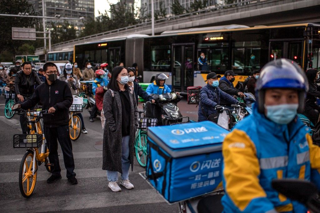 Chine mondialisation économie activité Pékin coronavirus covid-19