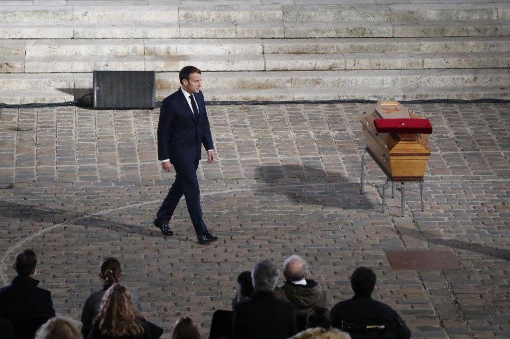 hommage national Emmanuel Macron Samuel Paty Conflans-Sainte-Honorine