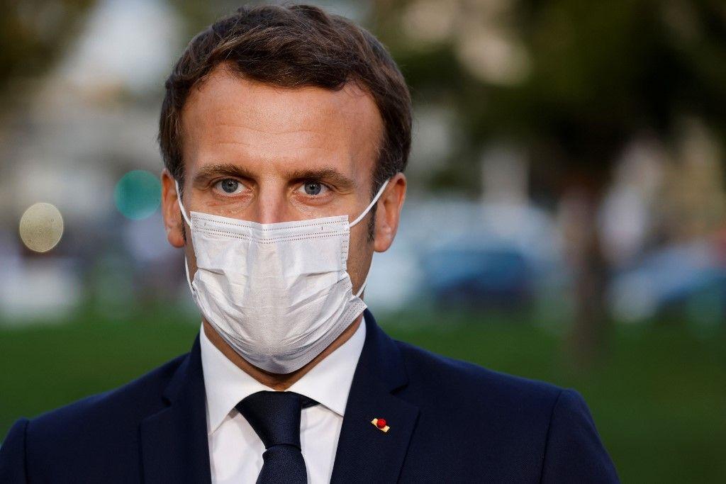 Emmanuel Macron séparatisme attentat de Conflans-Sainte-Honorine islamisme