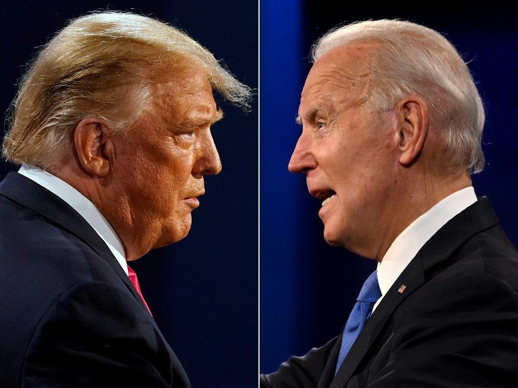 Trump et Biden
