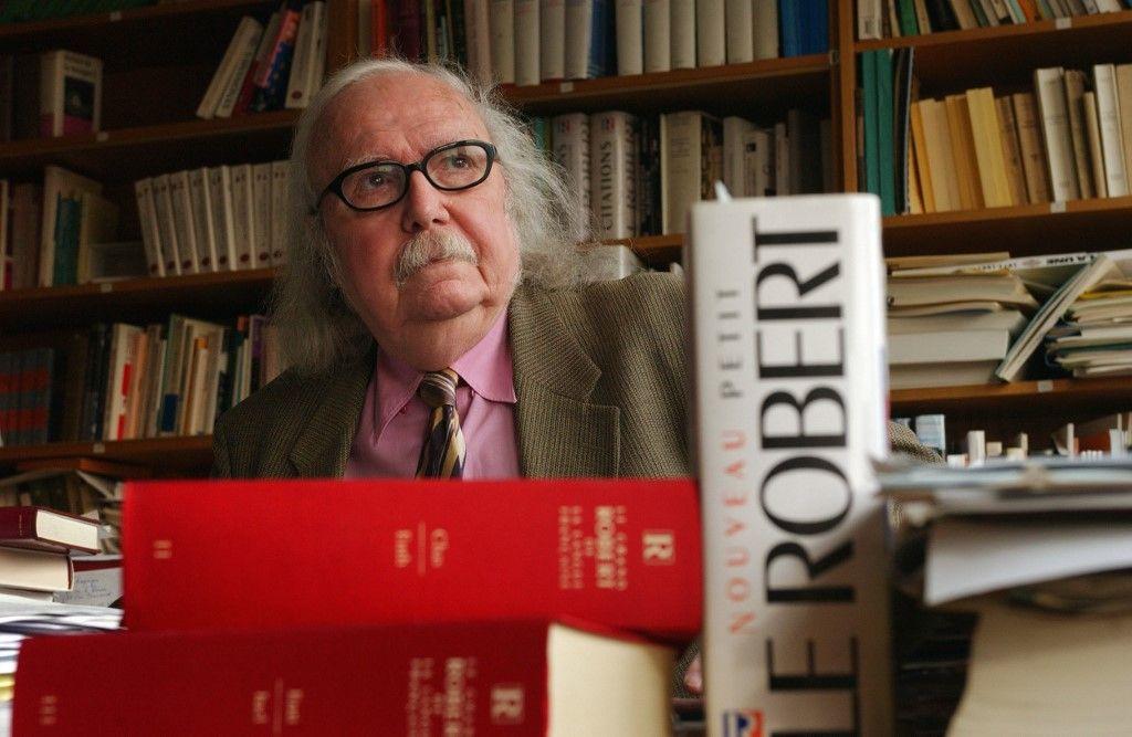 Alain Rey dictionnaire Le Robert