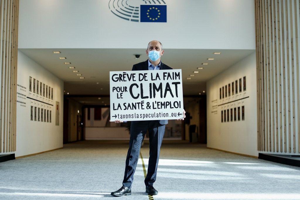Pierre Larrouturou grève de la faim taxation