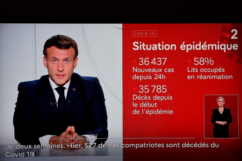 Emmanuel Macron coronavirus covid-19