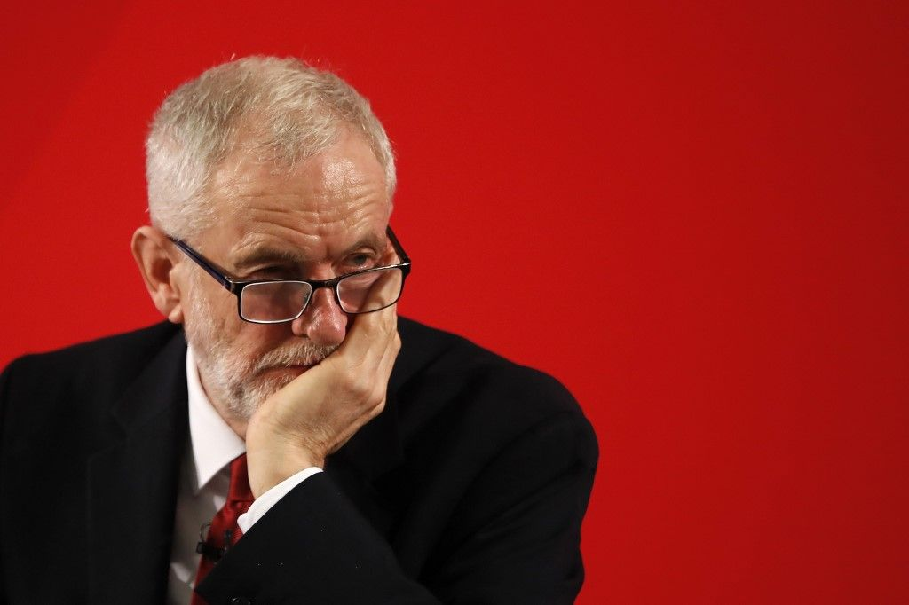 Jeremy Corbyn Labour parti travailliste antisémitisme