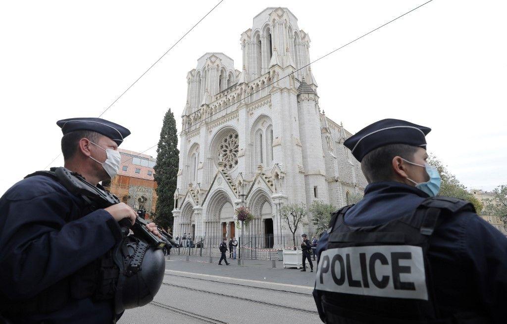 Nice attentat attaque cathédrale Notre-Dame de l'Assomption