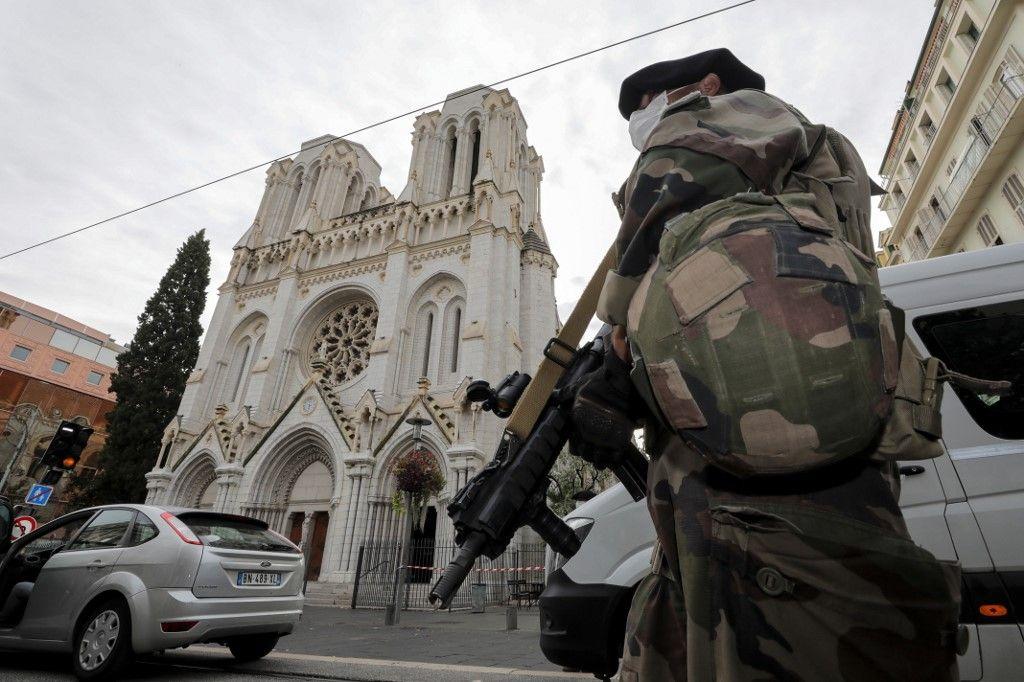 Nice attentat menace terroriste basilique Notre-Dame de l'Assomption terrorisme meance