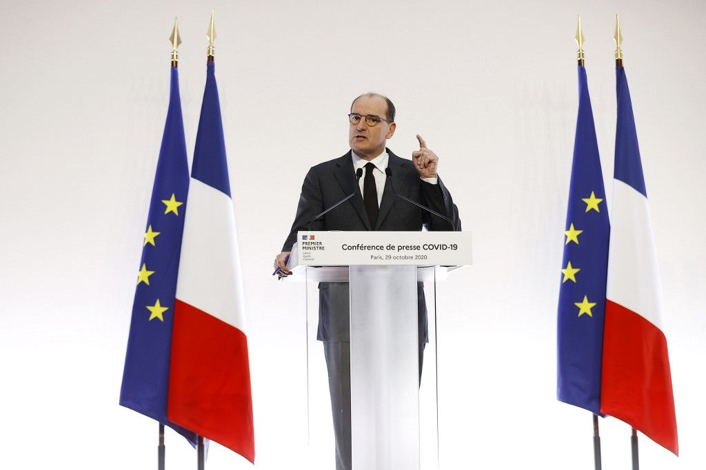 Jean Castex premier ministre annonces reocnfinement