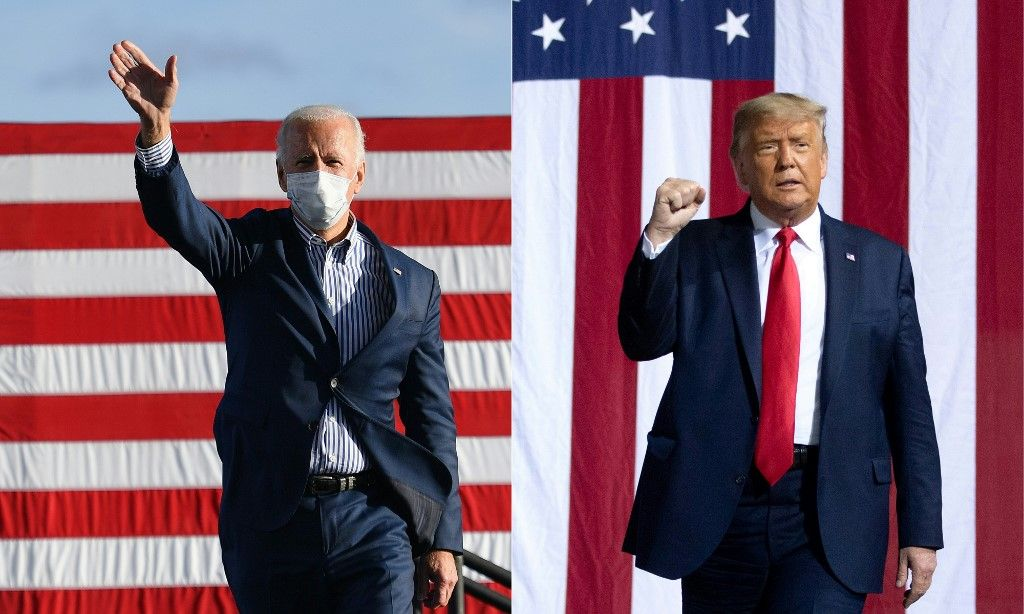 Joe Biden Donald Trump coronavirus covid-19