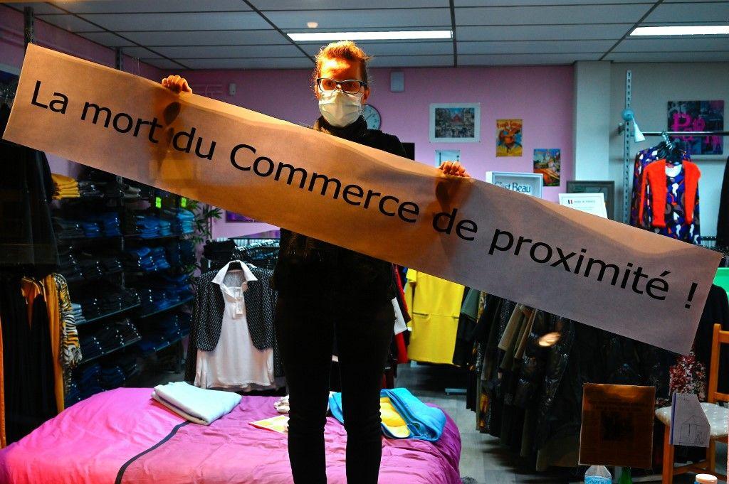 Reconfinement : pas de raison sanitaire à maintenir la fermeture des petits commerces et des indépendants