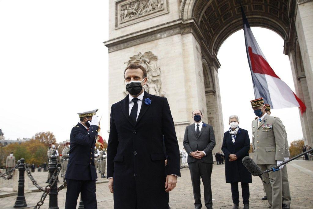 Emmanuel Macron 11 novembre résilience Armistice général de Gaulle Maurice Genevoix